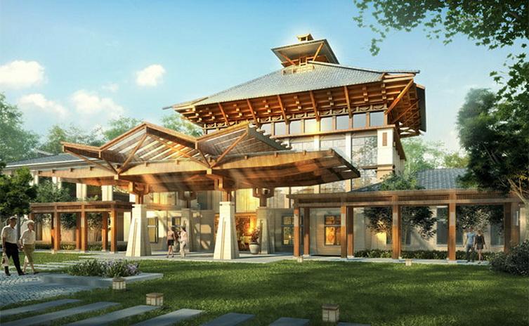大汉亨景房地产开发有限公司 项目类别:别墅景观设计 客户单位:大汉亨