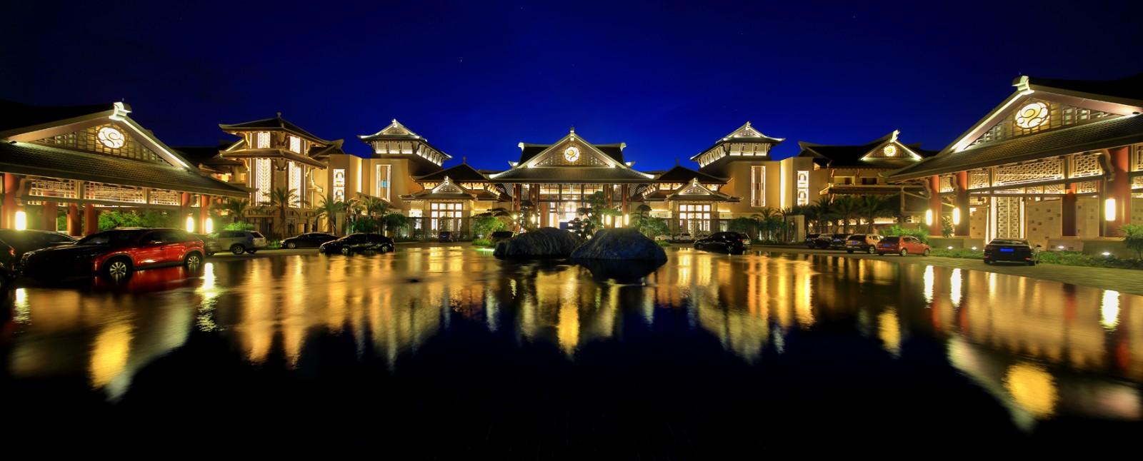 海南棋子湾开元度假村景观设计图片