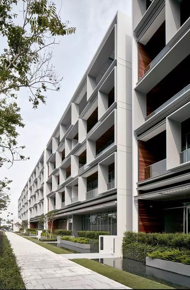 Seletar park residence - Architecture contemporaine residence parks ...