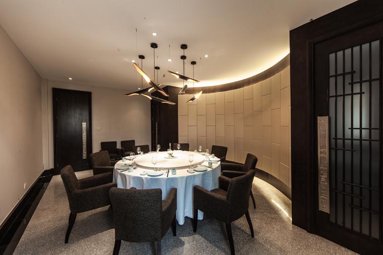 石家庄市丰泽金日建筑装饰设计室 > 竹雨堂-庭院式意境餐厅