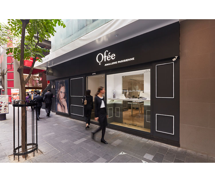 Ofee歐菲法國珠寶店設計