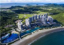 阳江敏捷黄金海岸度假区景观设计