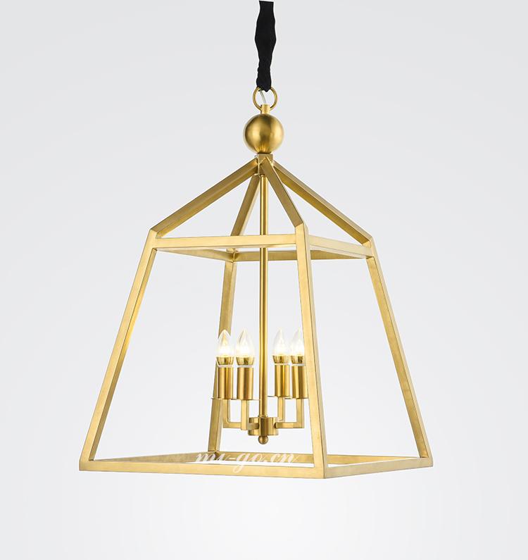 美式工业风金属吊灯