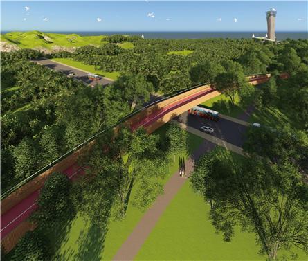 海南三亚崖州湾丝路之塔广场景观设计
