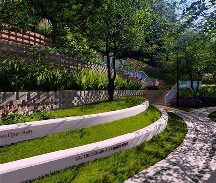 深圳半山悦海景观设计