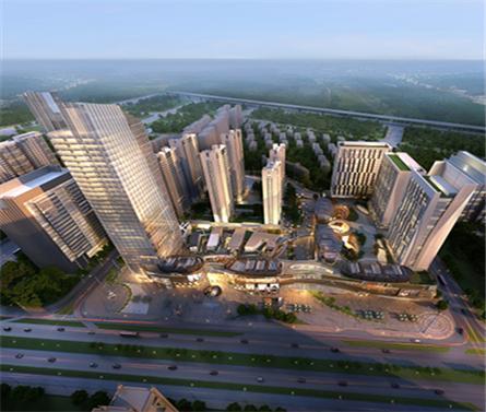 合肥政务新区天珑广场城市综合体