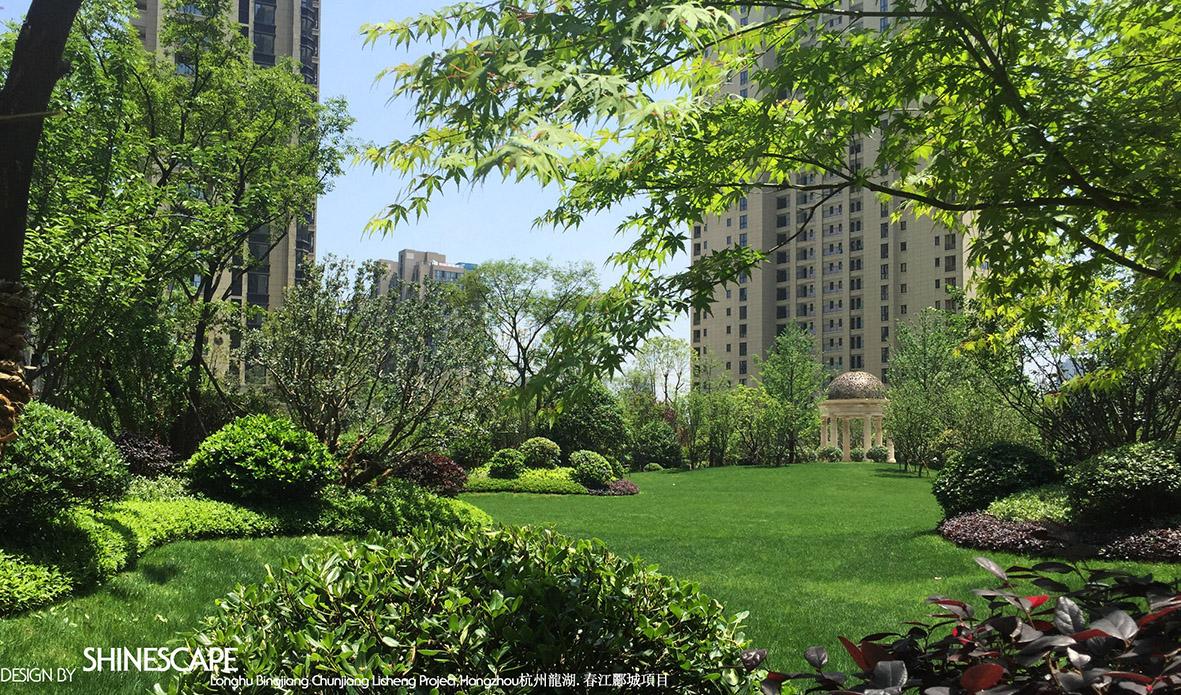 杭州龙湖 春江郦城景观设计