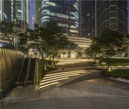 深圳华润大冲商务中心景观施工图设计