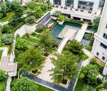泰康之家·粤园景观设计
