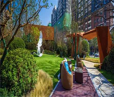 上海金地双都汇展示区