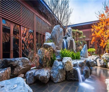 西安骊山下的院子