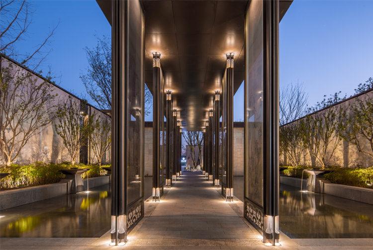 重庆朴乔景观规划设计有限公司 成功案例 > 苏州 · 鲁能公馆   中心