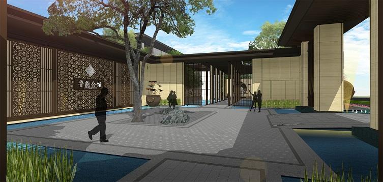 重庆朴乔景观规划设计有限公司 成功案例 > 苏州 · 鲁能公馆   苏城