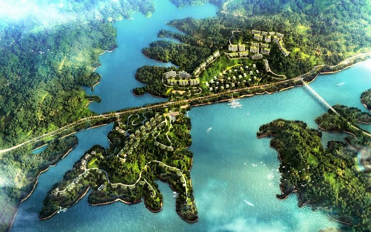 千岛湖半岛小镇