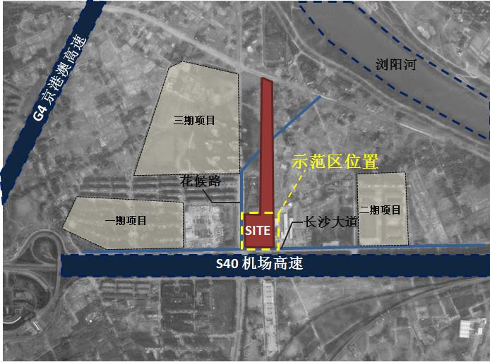 阳光城集团长沙尚东湾体验区项目景观设计