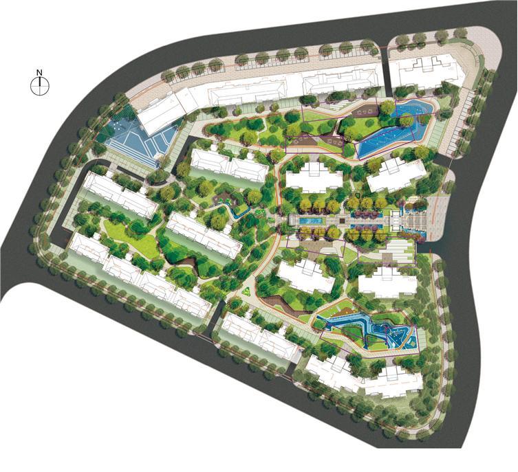 大连龙湖星海彼岸景观设计