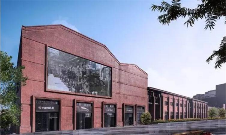""">""""雕塑时空""""天津拖拉机厂商业改造二期  设计上的策略采取兼容并蓄,精图片"""