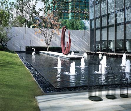 嘉兴中洲花溪地景观设计