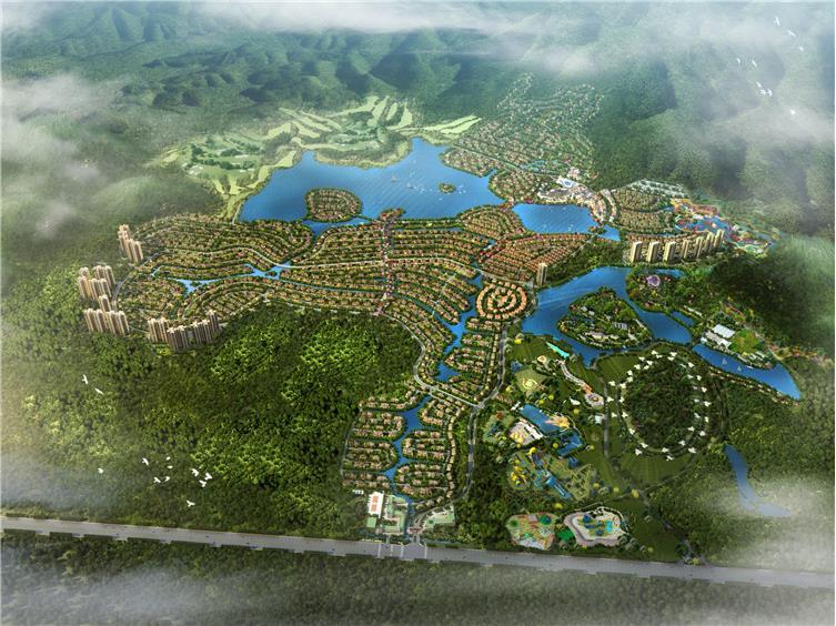 森林木屋  规划平面图