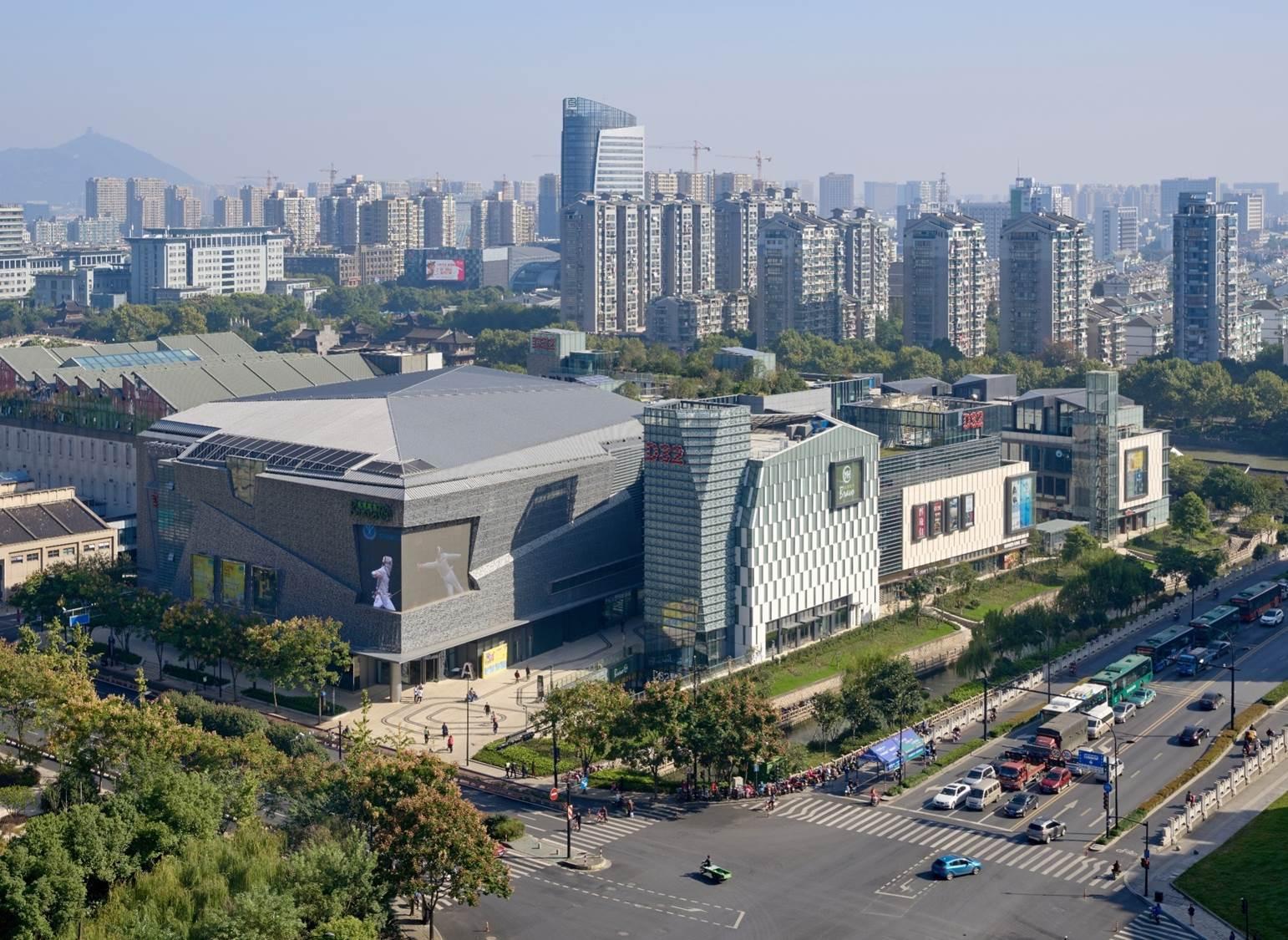 深圳华森建筑与工程设计顾问有限公司 成功案例 > 杭州天阳d32商业图片
