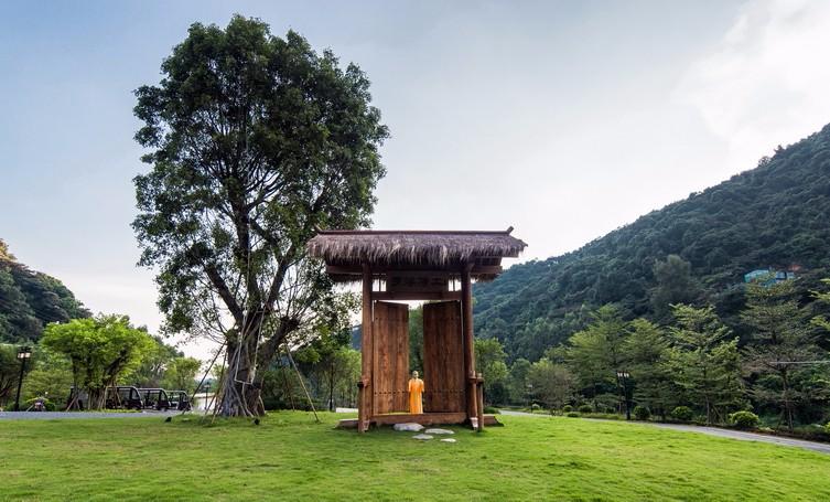 惠州泰康纪念园入口公园景观设计