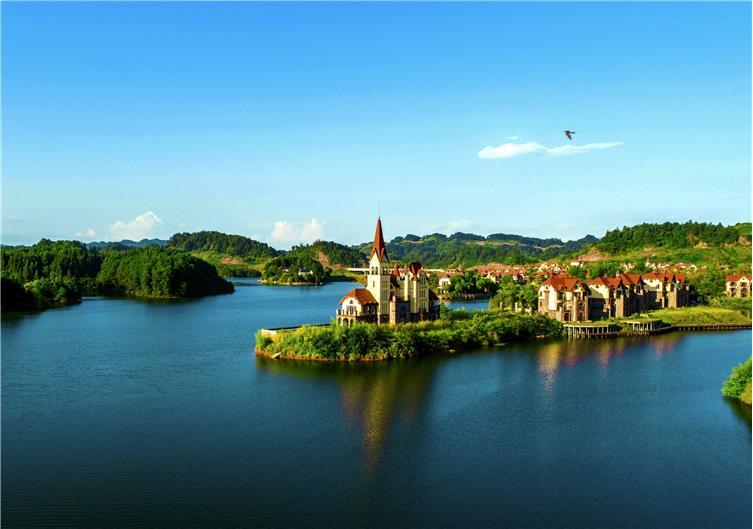 重庆中海黎香湖景观设计
