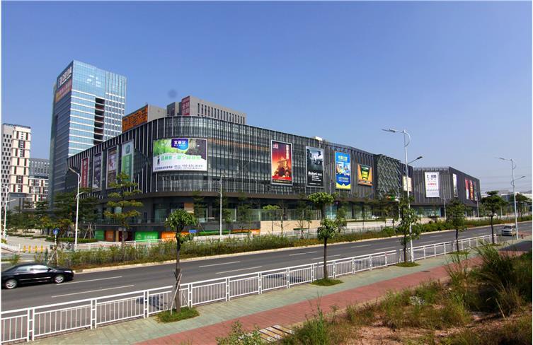 建筑设计-深圳宝能五和家具广场项目