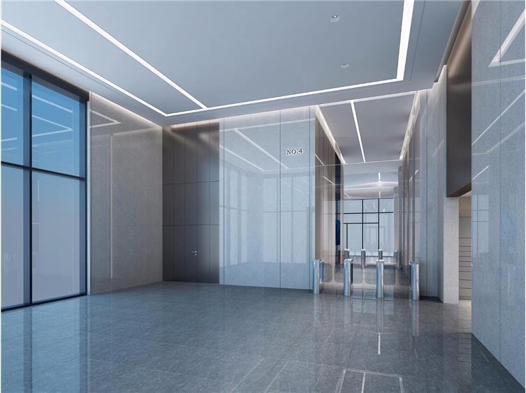 015 4#楼一层副厅效果图 4# Building Level 01 Secondary Lobby Rendering.jpg