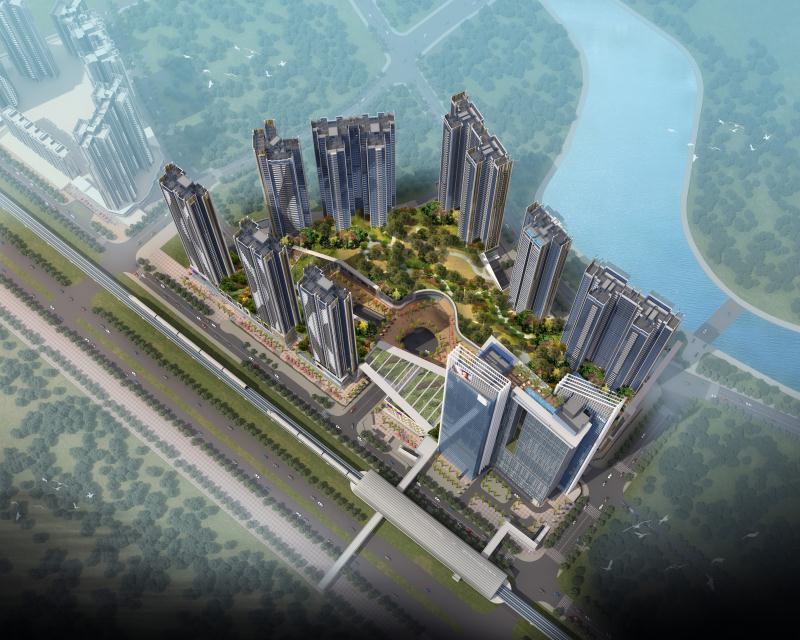 深圳宝能城—册之丘接待中心