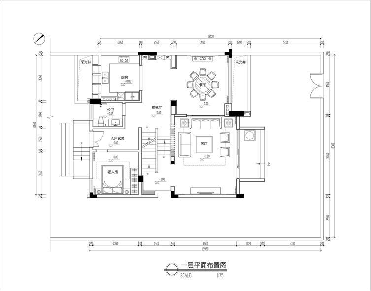 柳州冠亚宽庐双拼别墅样板房设计--禅意留白