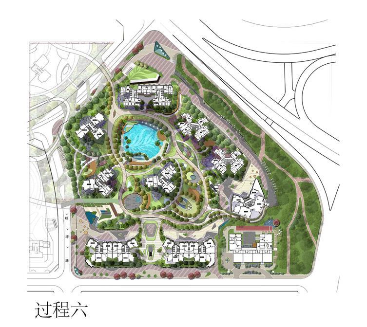颐安都会中央公园(2期)景观设计