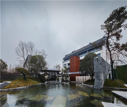 紫竹云山墅,用现代设计语汇演绎千年江南文脉