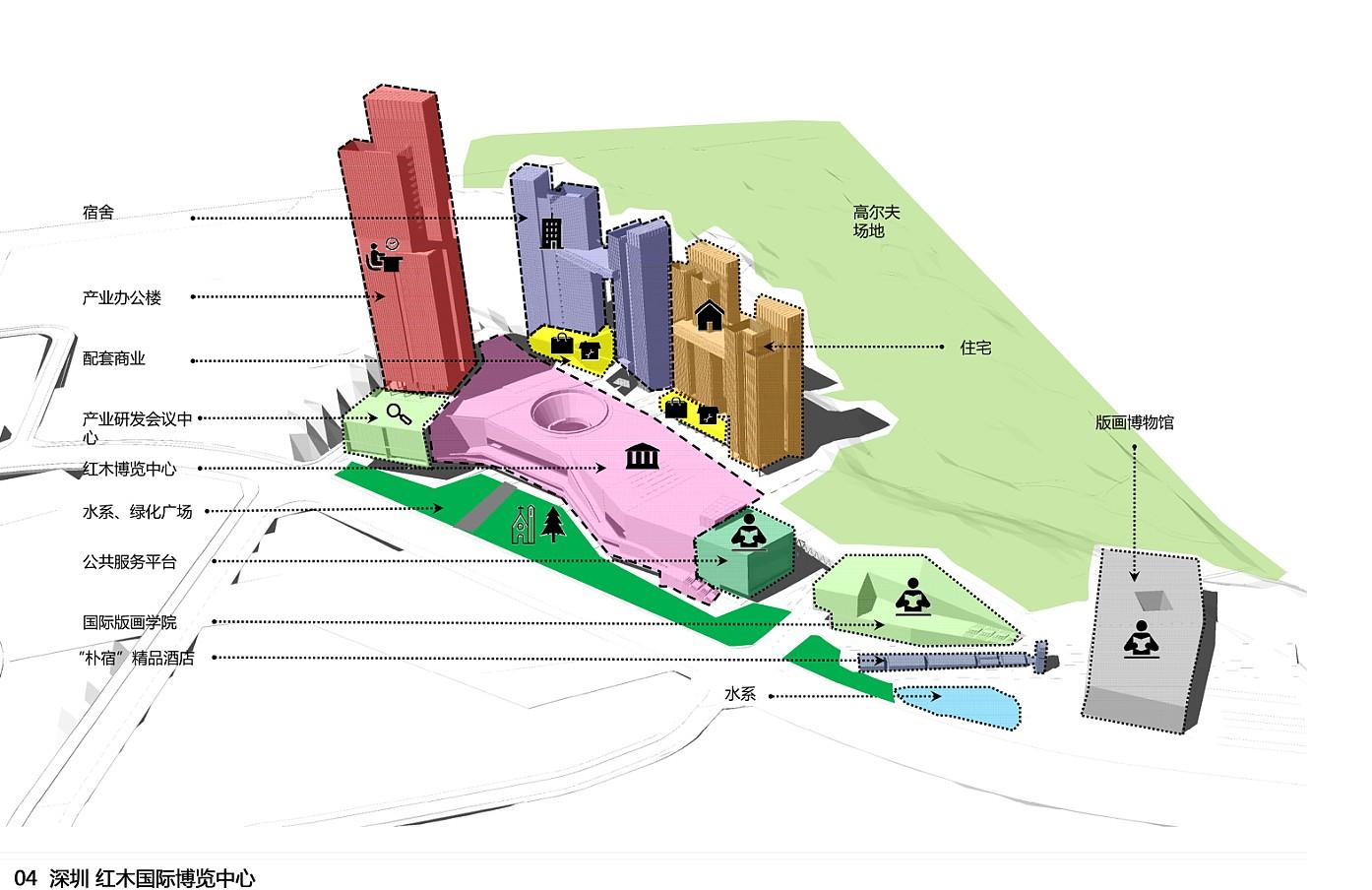 红木国际博览中心概念方案