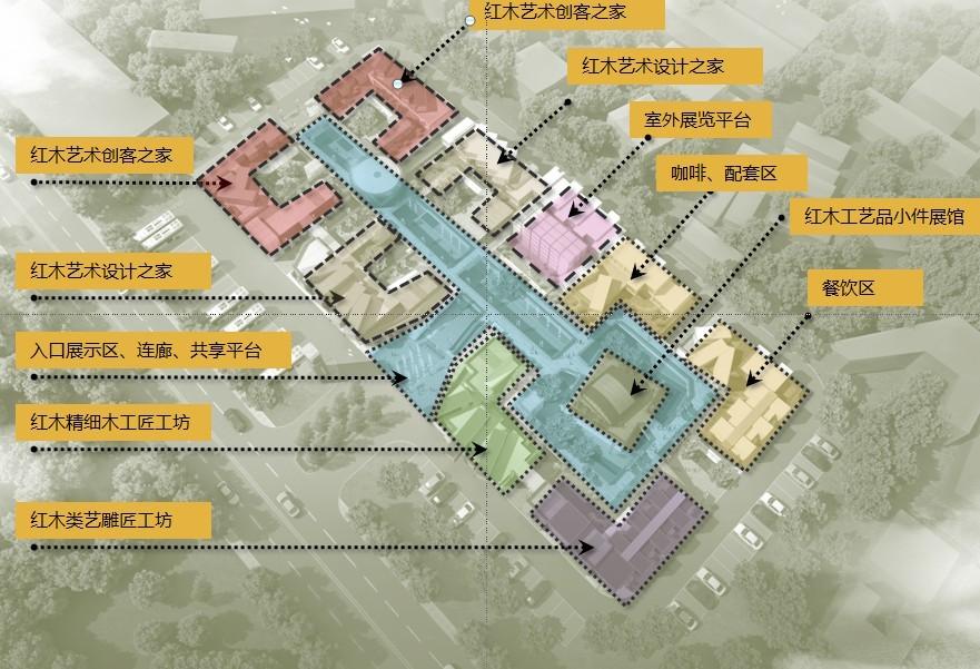 深圳红木工艺品展览体验中心项目
