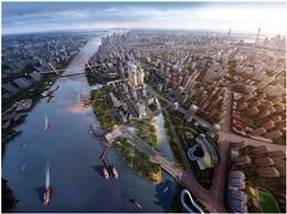 綠地越秀海玥概念規劃-超高層住宅,高中低區戶型的差異化設計