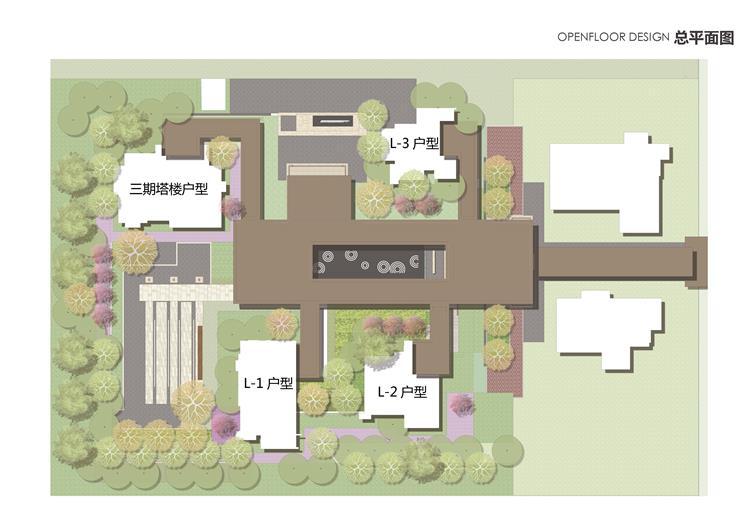 长沙万科魅力之城二期展示区景观设计