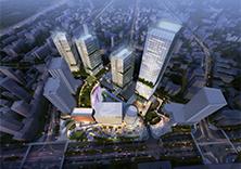 贵阳延安东路改造概念规划综合体,地铁上盖,复杂空间处理
