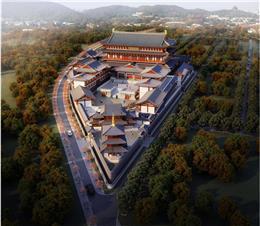 香河县宝庆寺总体规划与建筑方案设计