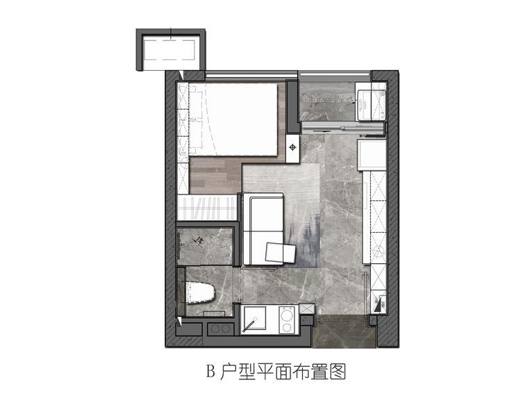 深圳万科蛇口公馆样板房设计