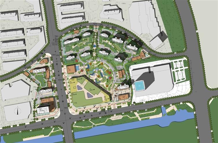 绿地都会雅苑-苏州城市更新-城市花园社区