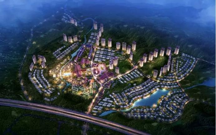 93万平方米;住宅区用地面积32.25万平方米,总建筑面积81.11万平方米.