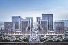 金融街(长安)中心+绿地环球文化金融城