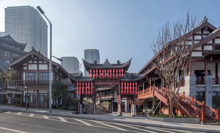 重庆融汇半岛茶花小镇