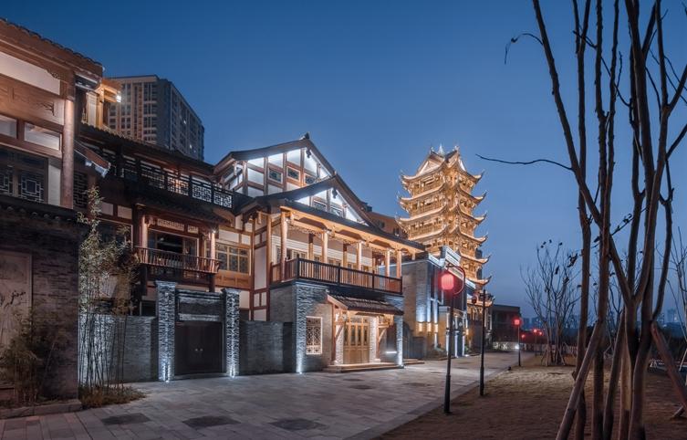 项目名称:重庆融汇半岛·茶花小镇