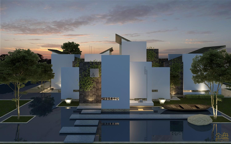 民宿酒店集群                            设计类型:建筑设计-规划