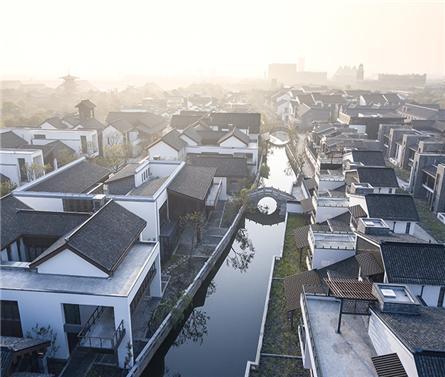 上海松江广富林文旅小镇