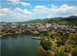 重庆民国街影视文化滨河公园