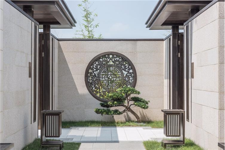小庭院门头设计效果图