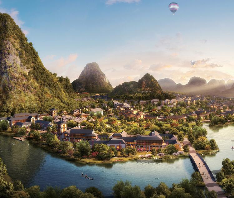 桂林国际休闲养生度假天堂