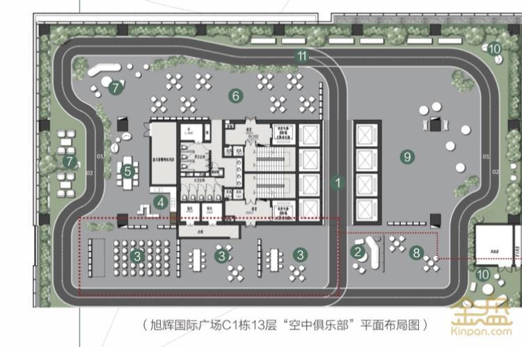 旭辉国际广场第六代写字楼
